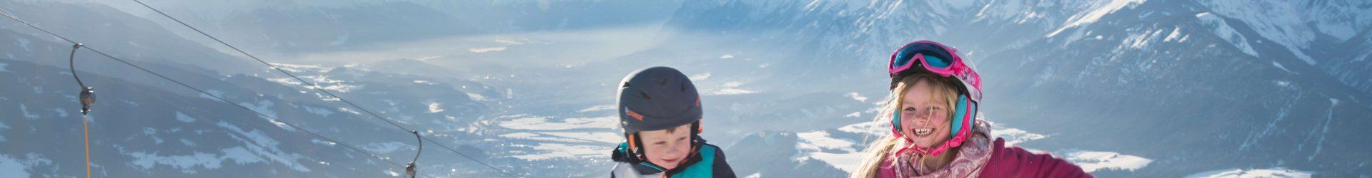 Gratis skilesssen voor de kinderen en korting op verhuurmateriaal
